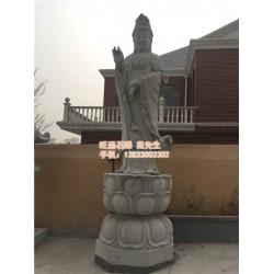 石雕观音_旺通雕塑(优质商家)_大型石雕三面