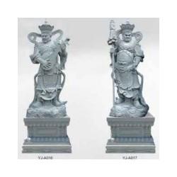 石雕雕刻四大天王像