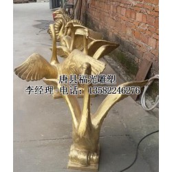 动物铜雕,【小区动物铜雕设计】,山西动物铜