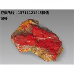 广州鸡血石在哪里能鉴定是不是到代的.