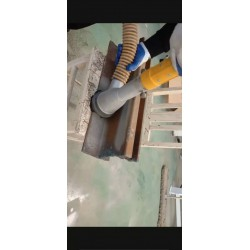 工字钢除锈喷砂机