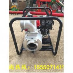 农田灌溉汽油抽水泵 茶园菜园花园汽油抽水