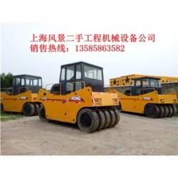 忻州二手压路机,徐工胶轮振动压路机