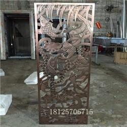 葫芦岛  铝门花铝板浮雕精雕加工定制//HED