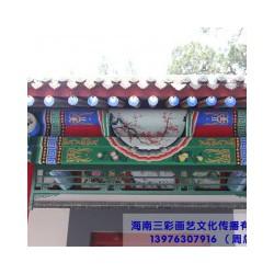 古建寺庙彩绘案例——古建寺庙彩绘价格是多