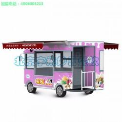 小吃车,宇飞妙言餐饮(在线咨询),冰淇淋多功