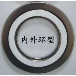 304 四氟缠绕垫,浙江专业的金属缠绕垫片供