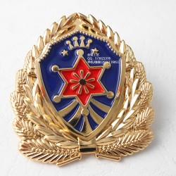 锌合金立体徽章、凹凸质感勋章、金属胸针生产