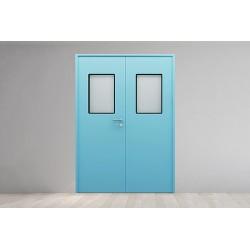 医用洁净门 钢制洁净门 无尘车间实验室病房净化门