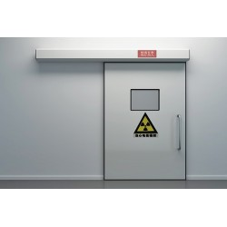 东莞医用气密门 防辐射气密门 彩钢板平移门