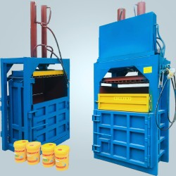打包机 立式秸秆稻草压捆打包机 小型废纸编织袋液压打包机
