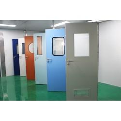 阿凡达门业钢制洁净门 净化车间工厂病房专用门