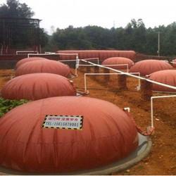 沼气发酵浮罩建造方案、红泥沼气袋承受压力多少