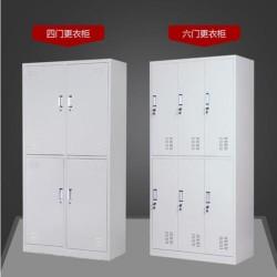 广东铁皮更衣柜钢制更衣柜宿舍衣柜坚实耐用价格实惠性价比高