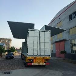 订做飞翼集装箱价格尺寸厂家定制液压飞翼箱