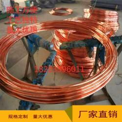 铜包钢圆线8-16铜覆钢接地线水平接地线厂家
