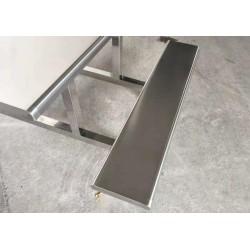 职员公司不锈钢餐桌 加厚板材 厂家直销价格低