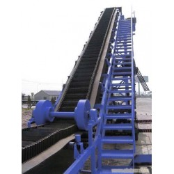青岛中六供用 大倾角输送带 高耐磨 质量保证
