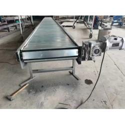 上海生产金属不锈钢板链输送线机