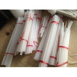 聚三氟乙烯棒白色半透PCTFE棒进口三氟棒供应