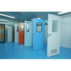 医用钢制洁净门比普通门多哪些优势?