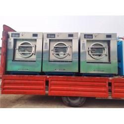 唐山二手大型工业洗衣机五棍烫平机百强二手折叠机