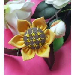 手工项链公主系列蓝色珍珠水滴韩版水晶花朵爱心胸花