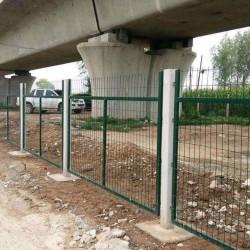 定制铁路护栏养殖圈地隔离防护网铁路公路铁丝网围栏双边丝护栏网