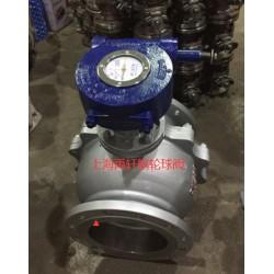 上海禹轩手动阀门涡轮头 QDX3-6涡轮蝶阀执行器