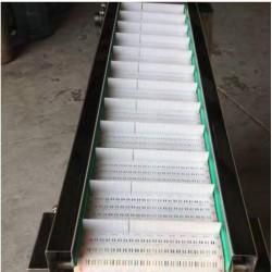 2400转弯限位塑料网带输送机