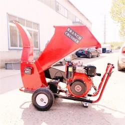 园林树枝专用粉碎机 树木枝条粉碎机 移动式树枝粉碎机厂家