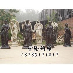 浙江人物雕塑_西方人物雕塑制作_世隆雕塑公